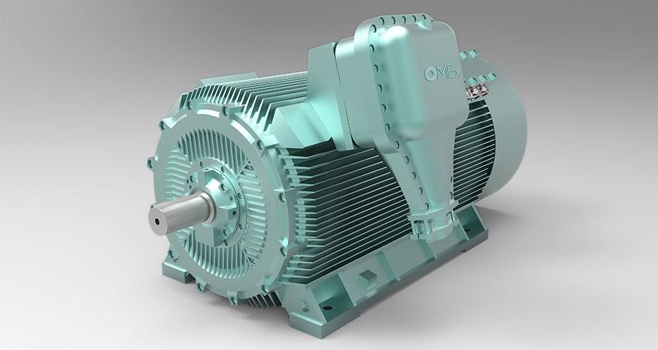 Motores de alta tensión OMEX